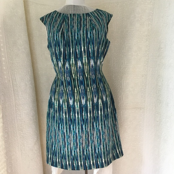 3d7c16caa7298 Alyx Sz 12 Turquoise Sheath Dress Women NWT